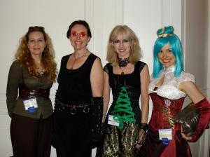 Agatha, Von Pinn, Lucrezia, and Mama Gkika