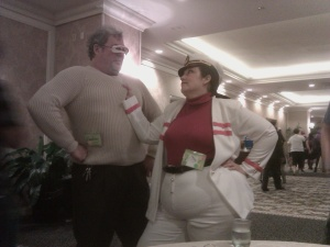 Cosplay at Necronomi-Con. Photos of Keating and Rhoda Floyd
