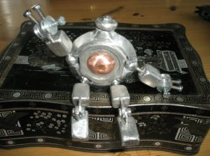 Handcrafted Metal Clank