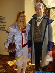 Henry Povolny and Chris Fisher of the Adult Space Child Free Podcast at Costume Con