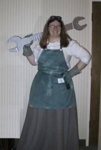 Tomago as Agatha at OryCon